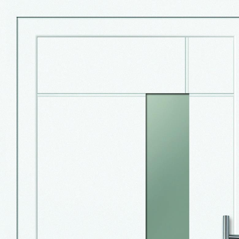 Bild einer Haustür mit Obst-Aktionshaustürfüllung