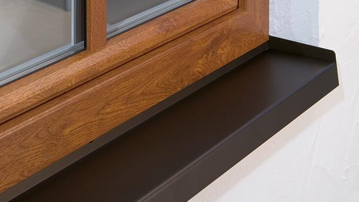 Abbildung Fensterblech RAL